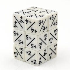 D6 Counter Dice(White Color)