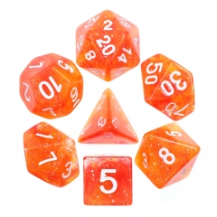 (Red+Yellow) Galaxy Dice Set