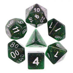 Green Dice Set