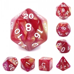 (Yellow+Rose Red) Blend Color Dice