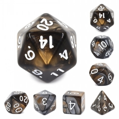 (gold+silver)Blend Color Dice