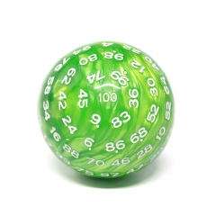 D100-Green Pearl (White Ink)